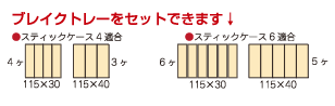 ブレイクトレーのイメージ図